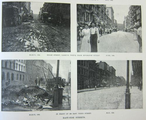 NYC Street before and after 1 of 4