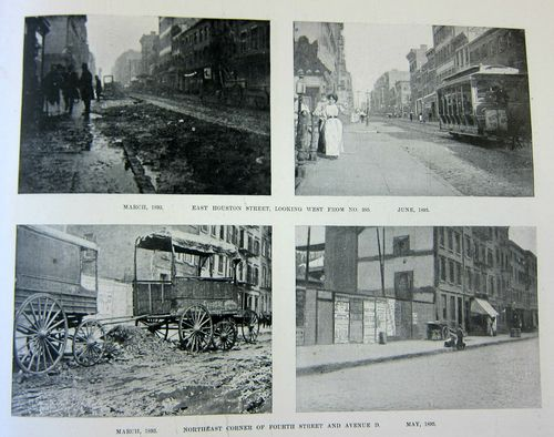 NYC Street before and after 2 of 4