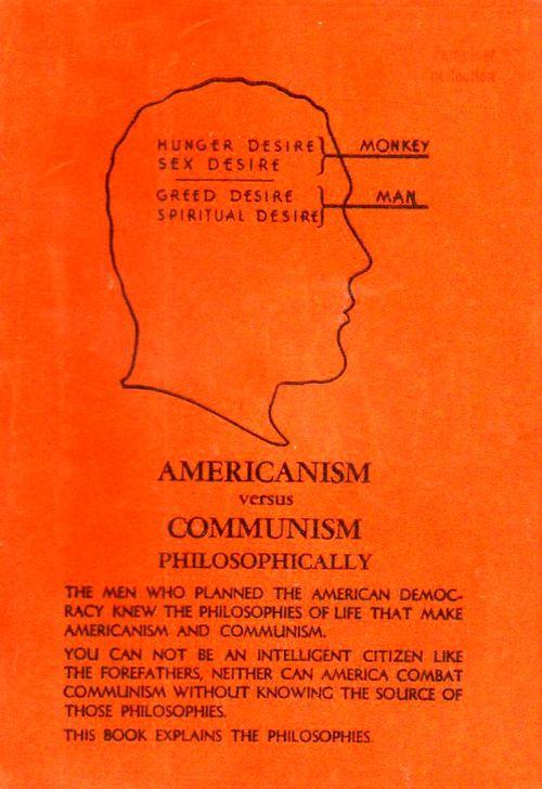 Americanism vs communism130