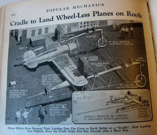 Airplane reverse catapault