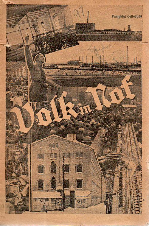 Weimar pamphlet Volk in Rot325