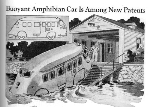 Amphibious car 409