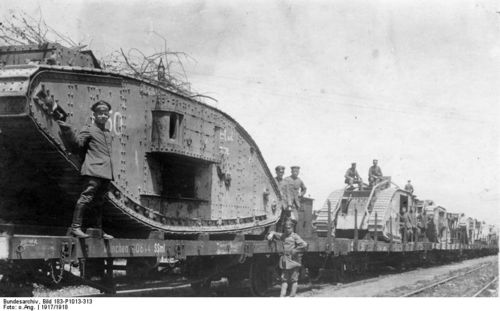 Wwi project tanks captured