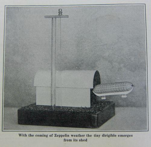 WWI Project Zeppelin barometer