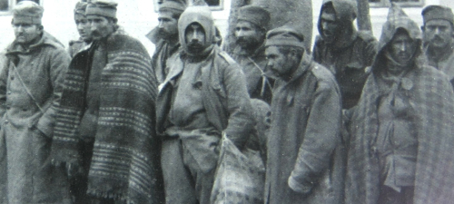 WWI Project 1914 Serbian prisoners detail