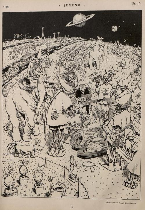 Alien art Jugend 1896