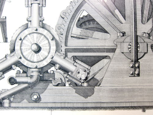 Poe Lock winding detail
