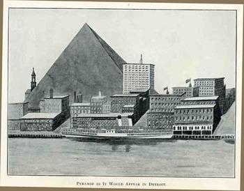 Pyramid in Detroit