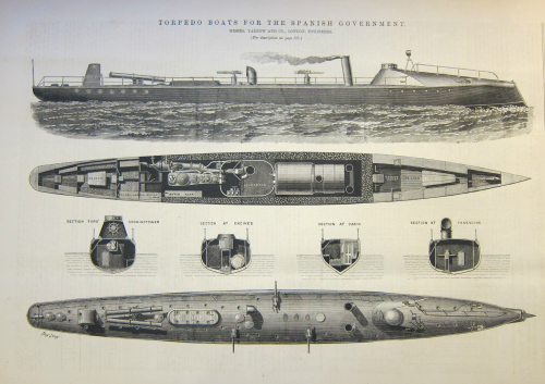 Engineer 1887 torpedo boat