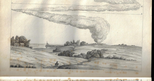 Cloud going in two directions  1817