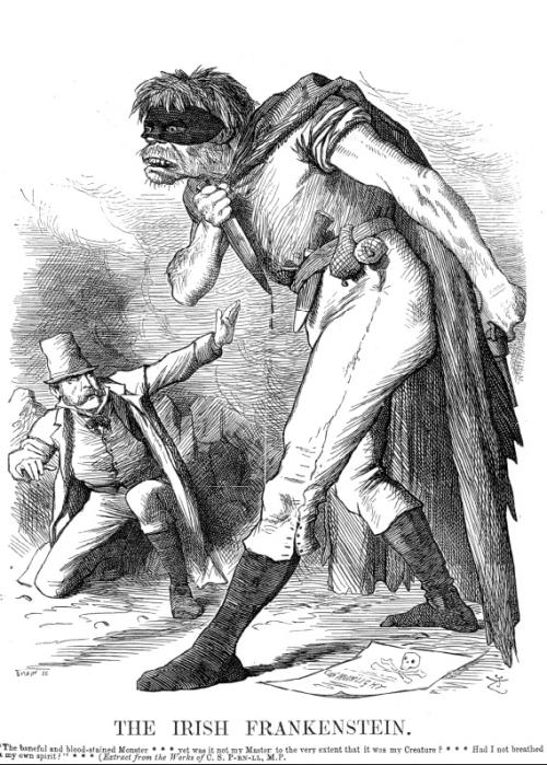 Punch Irish frankenstein