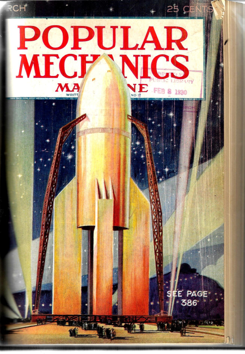 Rocket Pop Mech 1930