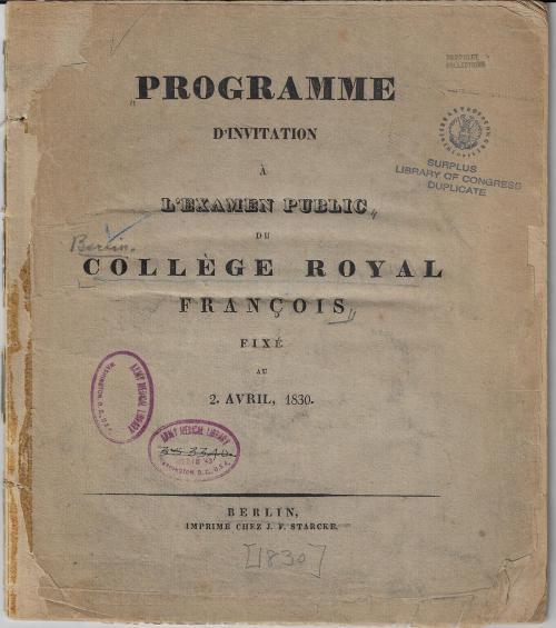 College Royal Francois _2_
