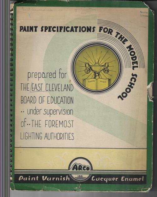 Paint specs cover