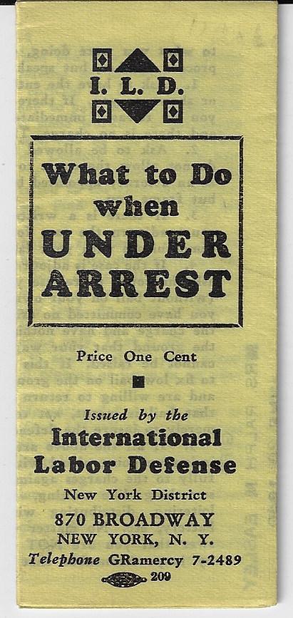 ILD Under arrest