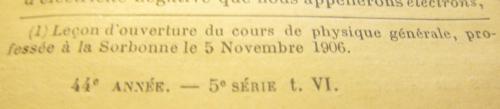 Curie 1906
