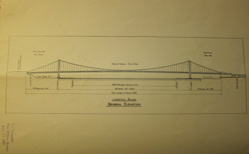 Lindenthal bridge elevation _3_