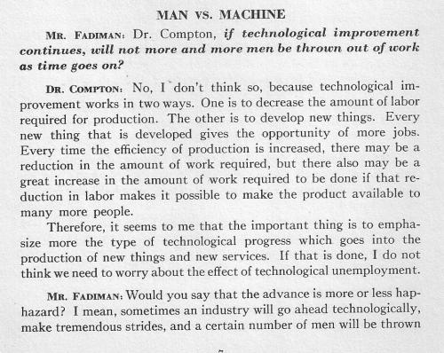 Compton on machines