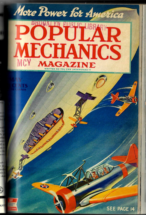 Pop Mech 1942 May dirigible airplanes