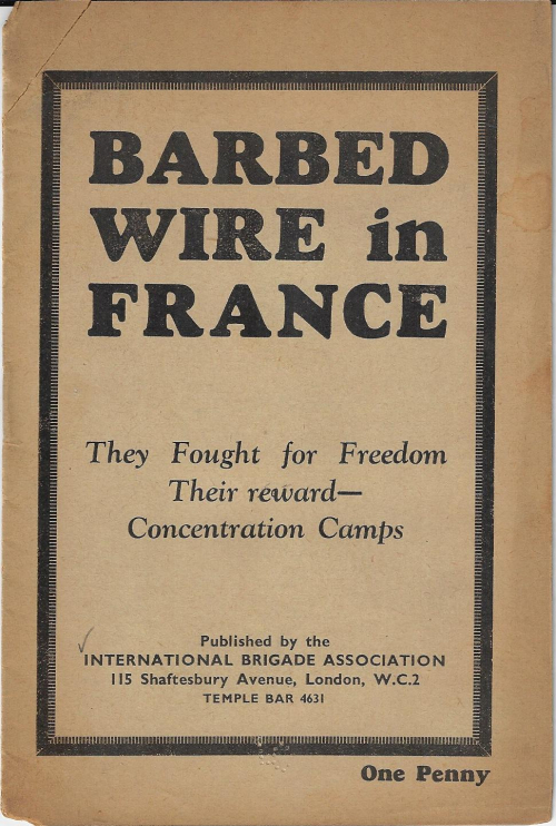 Barbed wire in France