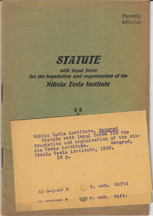 Tesla institute