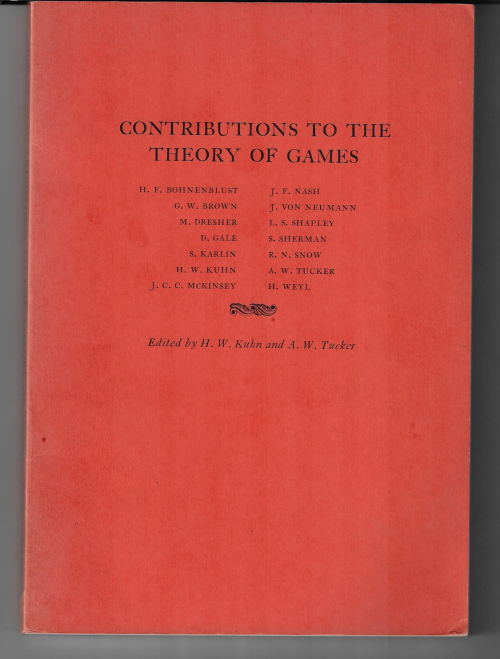 Contributions theory games 1950