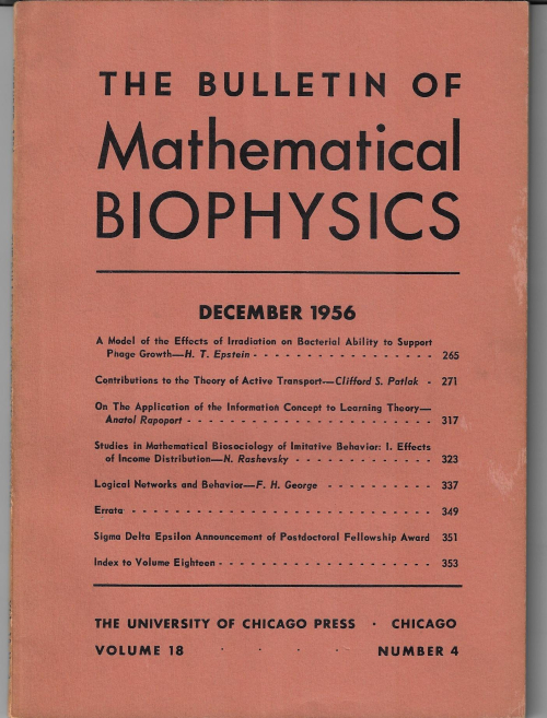 George Math biophysics