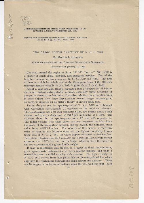 Humanson 1929
