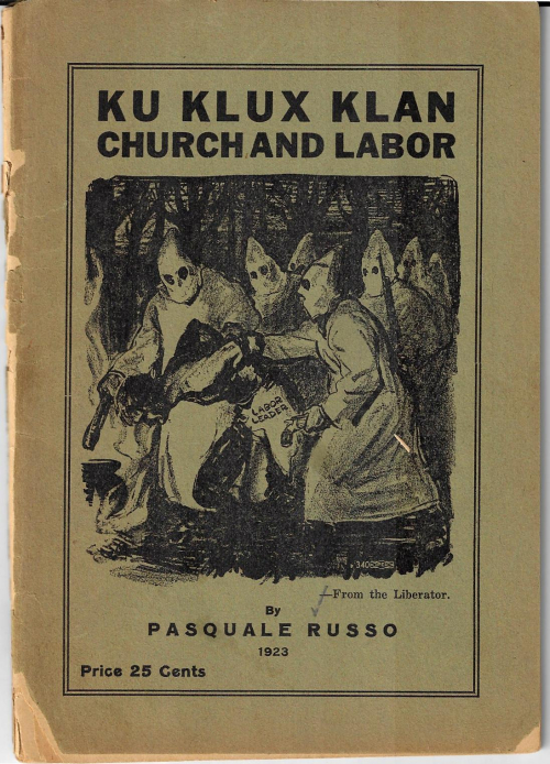KKK Church and Labor 1923
