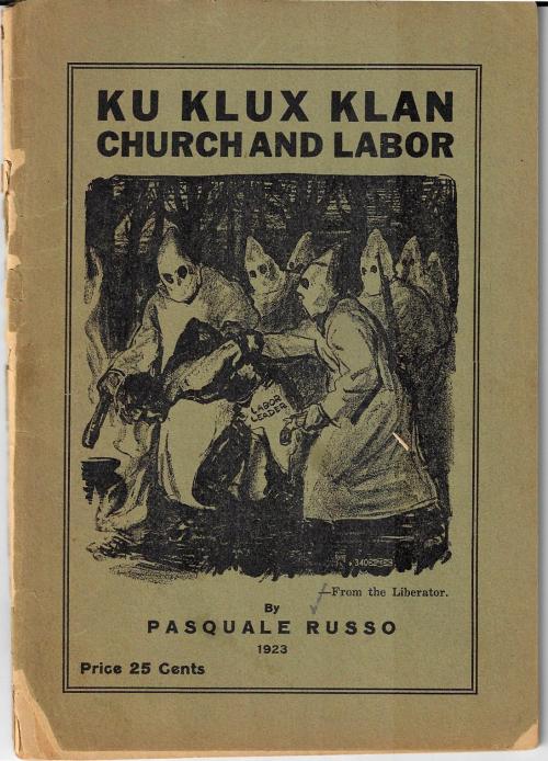 KKK Church and Labor 1923