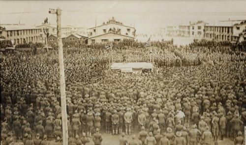 WWI Photos boxing