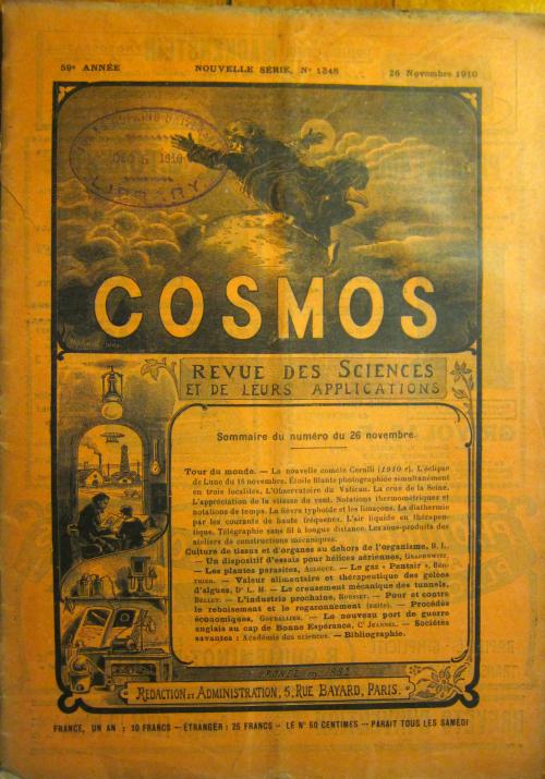 Cosmos November 1910