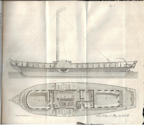 Annalen 1816 steamboat