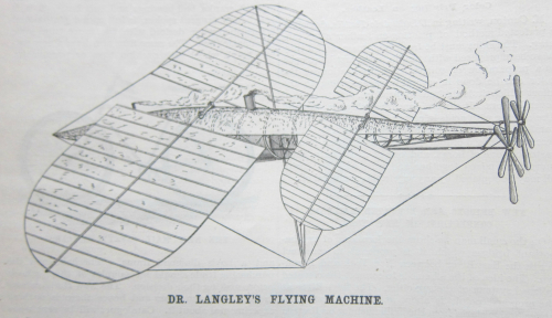 Sci Am 1893 Langley flyer