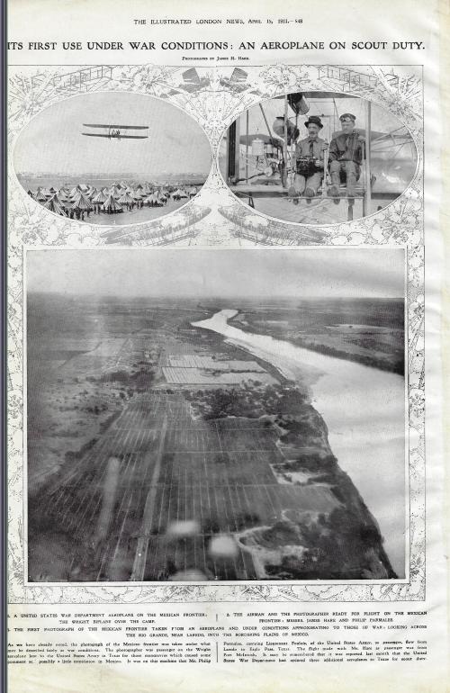 ILN 1911 airplane war use