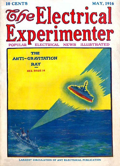 Electricalexperimenter anti-gravity