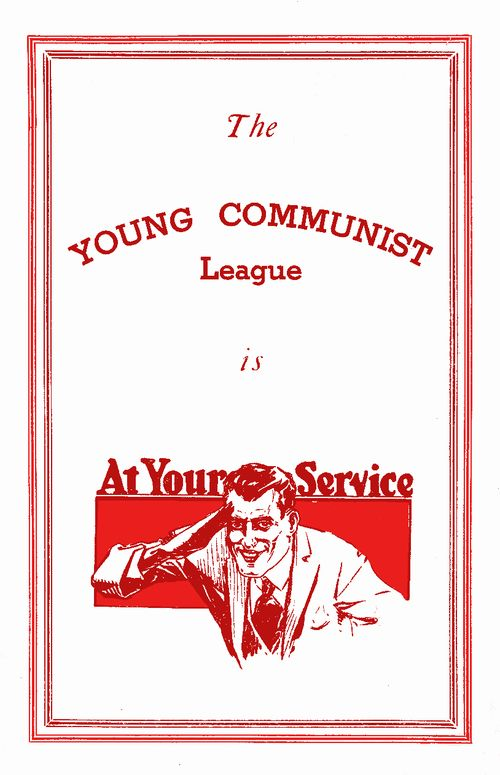 Poster Reprint Young Commie 150 dpi white 359