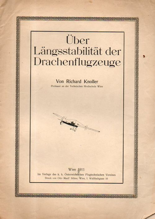 Aviation 1911 Knoller605