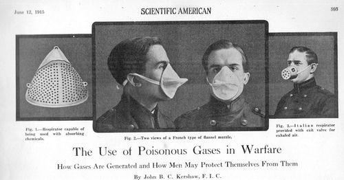 Gas mask752