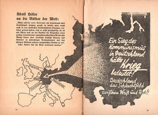Jf Ptak Science Books Nazi Propaganda Map Of Communist