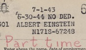 Archives--Einstein payroll detail