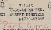 Archives--Einstein payroll detail