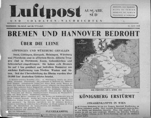 WWII Propaganda newspaper866