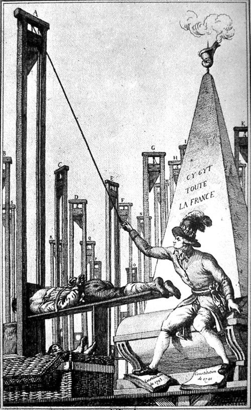 Robespierre guillotine