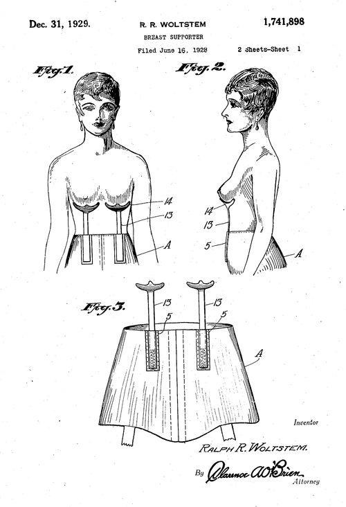 Patent bra