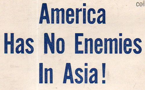 America has no enemies930