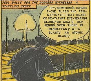 Atomic blast Dodgers game