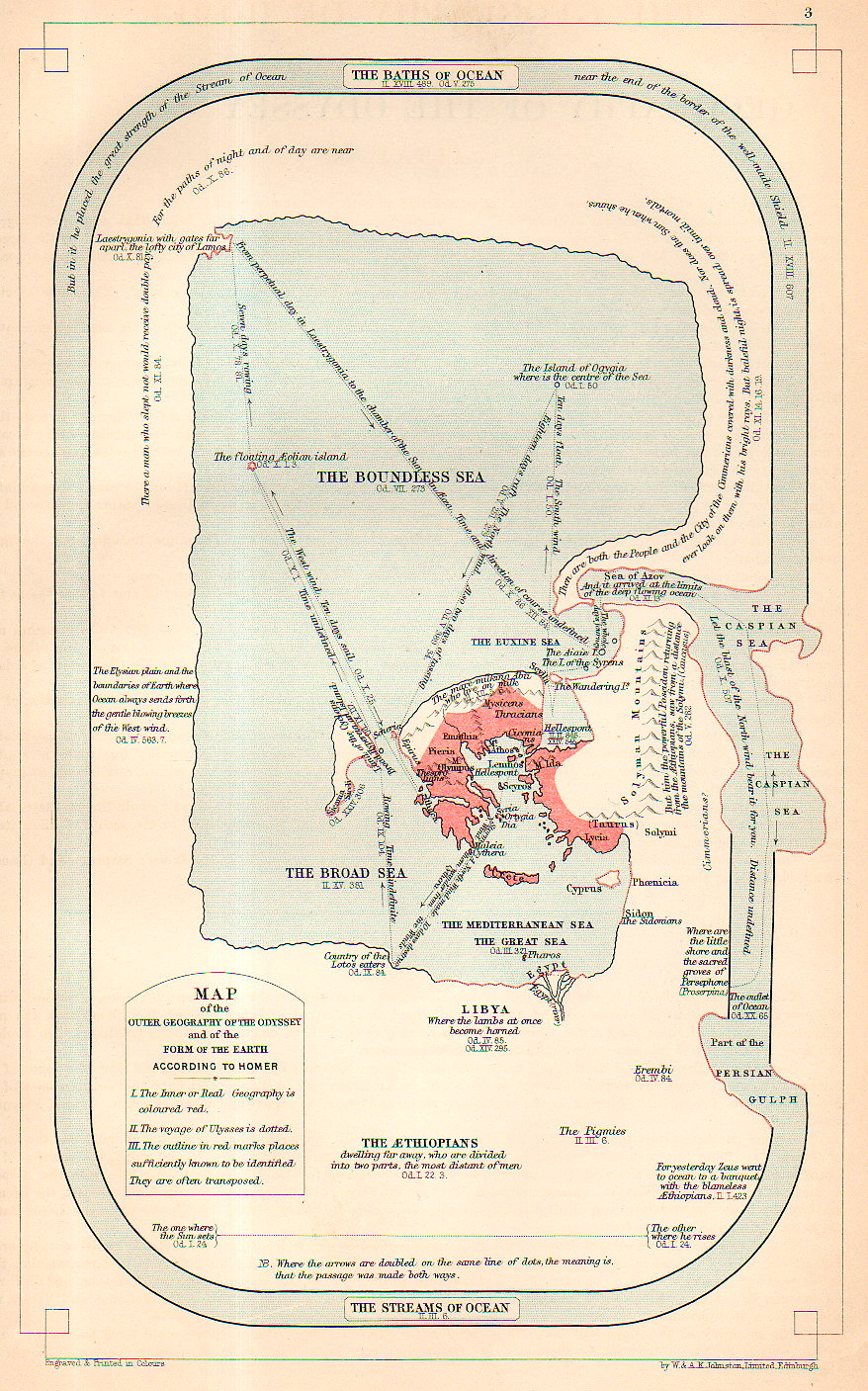 map geography of homer951