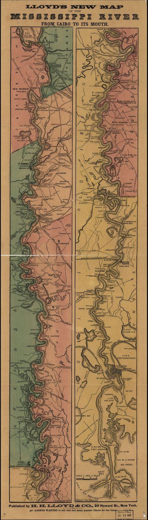 Mississippi Lloyd map