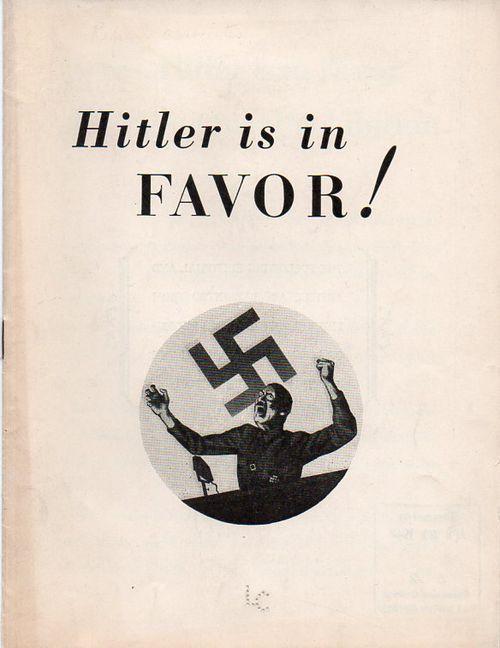 Hitler is in favor!984